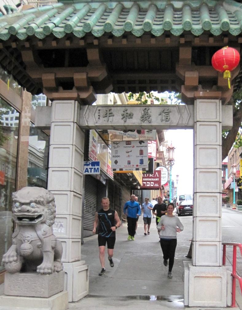 Group-Chinatown Run